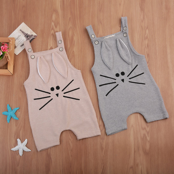 Cute Animal 3D Ears Playsuit