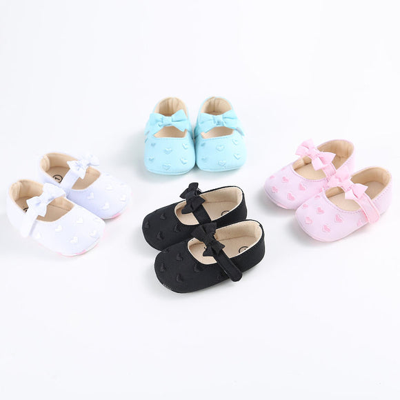 Cute Anti-slip Bowtie Shoes - 5 Storks