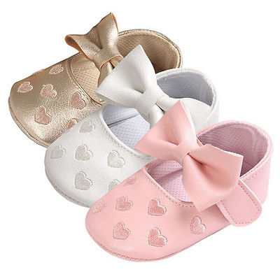 Bow knot Soft Sole Shoes
