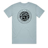D5 CRUIZIN STAPLE TEE PALE BLUE - D5 BODYBOARD SHOP