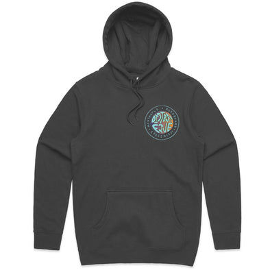 D5 CRUISIN' HOODED JUMPER- GREY -D5 BODYBOARD SHOP