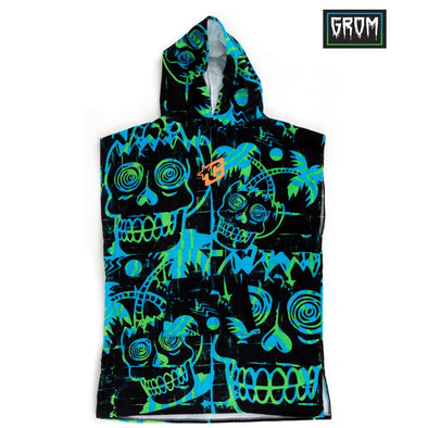Creatures Of Leisure Grom Poncho - Cyan Green - D5 BODYBOARD SHOP