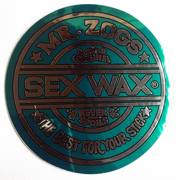 Sex Wax Sticker - D5 BODYBOARD SHOP