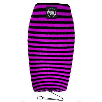 Limited Edition Stretch Cover - Large Fit - Black Purple - D5 BODYBOARD SHOP
