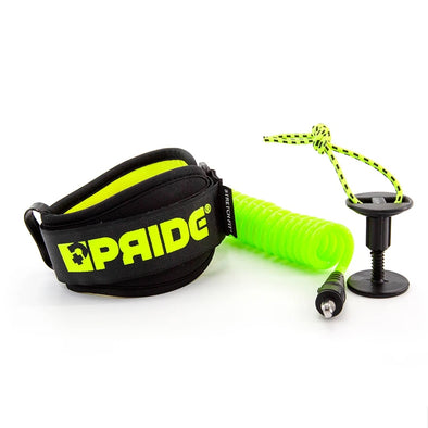 PRIDE PIERRE LOUIS COSTES BICEP LEASH - YELLOW - D5 BODYBOARD SHOP