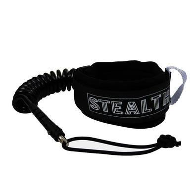 Stealth Basic Double Swivel Bicep - Black - D5 BODYBOARD SHOP