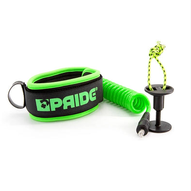 PRIDE TRISTAN ROBERTS BICEP LEASH - GREEN - D5 BODYBOARD SHOP