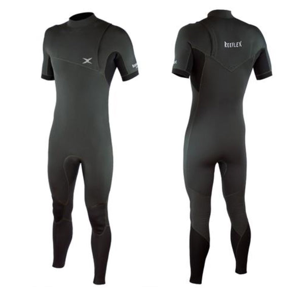 Reeflex Wetsuits Warden Zipperless 2/2mm Short Sleeve Steamer - D5 BODYBOARD SHOP