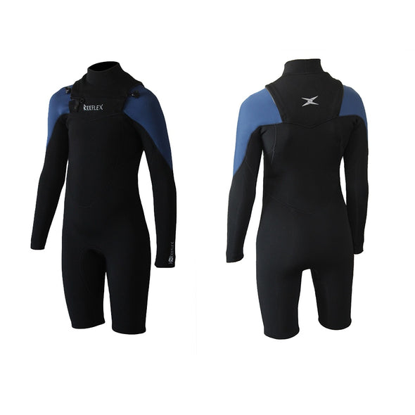Reeflex Wetsuits Junior Bender 2.2mm Long Sleeve Springsuit - D5 BODYBOARD SHOP