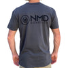 D5 BODYBOARD SHOP - NMD LOGO TEE - FADED BLACK