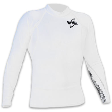 Gyroll Wetsuits Long Sleeve Rashest - White