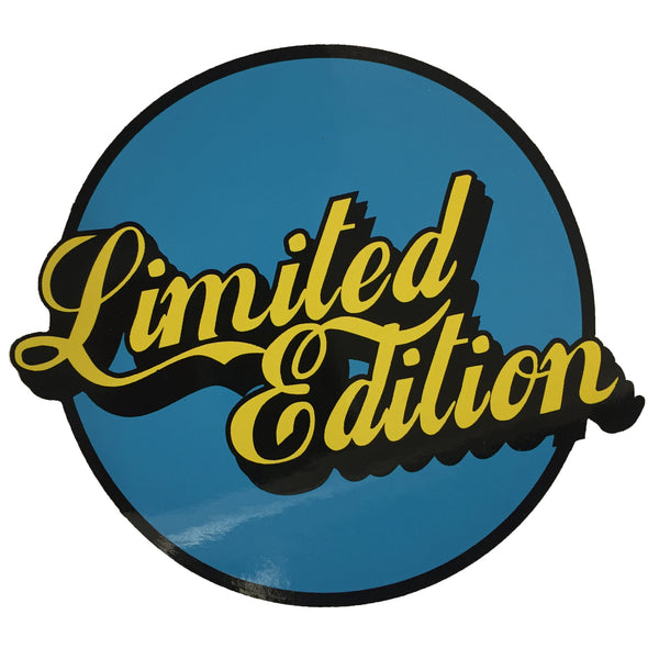 Limited Edition Sticker - Blue