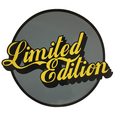 Limited Edition Sticker - Grey