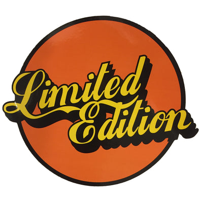 Limited Edition Sticker - Orange