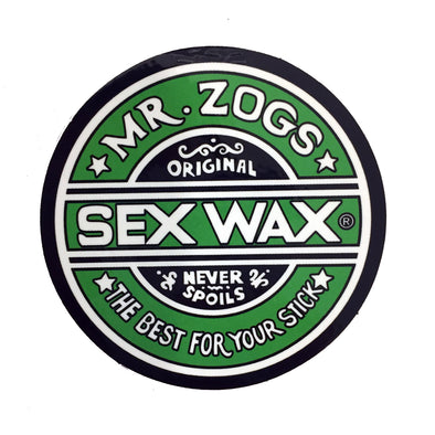 Sex Wax Stickers From Mr Zogs - Green