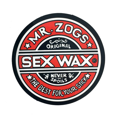Sex Wax Stickers From Mr Zogs - Red