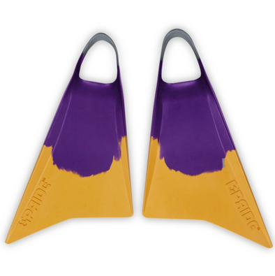 Pride Vulcan V2 Fins Purple/Light Grey/Spectra Yellow