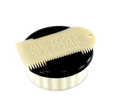 SexWax Wax Container & Comb from Mr Zogs