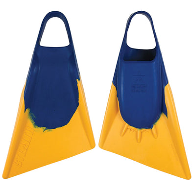 Stealth Fins S2 Blue Gold