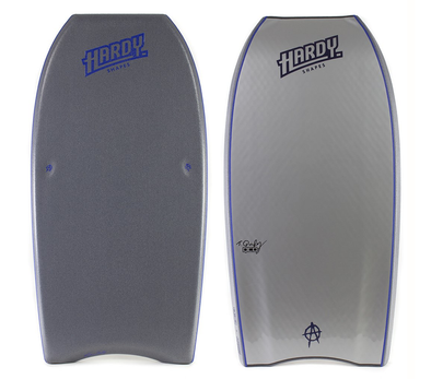 Hardy Shapes - Modern Anarchy Grey Kinetic PP -D5 BODYBOARD SHOP