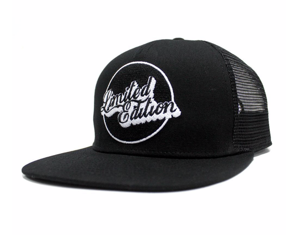 Limited Edition Black Snap Back Hat - D5 BODYBOARD SHOP