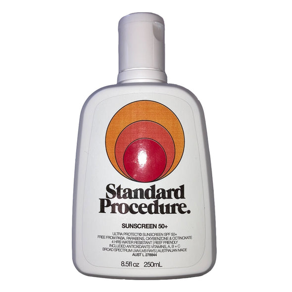 Standard Procedure 50+ Sunscreen - D5 BODYBOARD SHOP