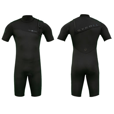 2019 Gyroll Primus Zipperless 2/2 Spring Suit - Black