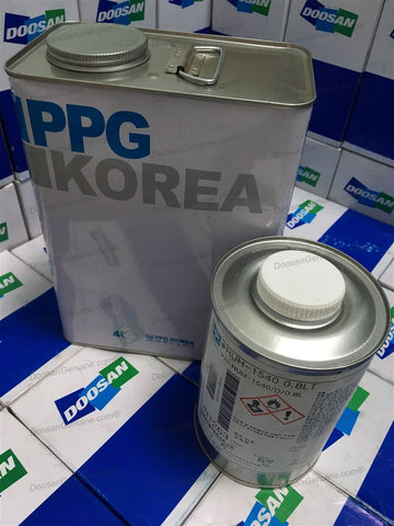 PAINT;SUPER DOOSAN ORANGE (4L)