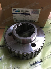 2.217-00041 / 4472 377 037. CARRIER,DISK for HUB-FRONT AXLE Doosan SOLAR 130W-III (HEWF0,DI,DOM) ~ SOLAR 180W-V (HEWV0,DI,DOM). Made in Germany.