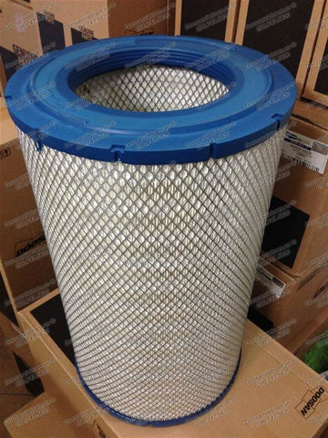 400401-00094. FILTER,AIR;OUTER For AIR CLEANER Doosan DX300LC (CECAA,DI,DOM) ~ DX520LCA (CECAG,DI,DOM) / DL300 (CWLAH,DI,DOM) ~ DL500 (CWLAL,DI,DOM).