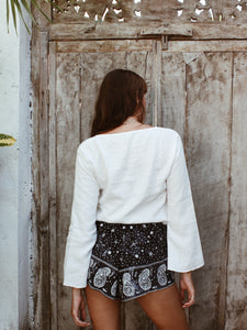 The Starry Night Skort Shorts - omness