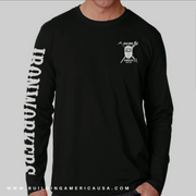 BLACK LONG SLEEVE - IRONWORKER EAGLE