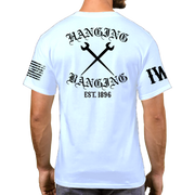 White Short Sleeve - Hanging & Banging