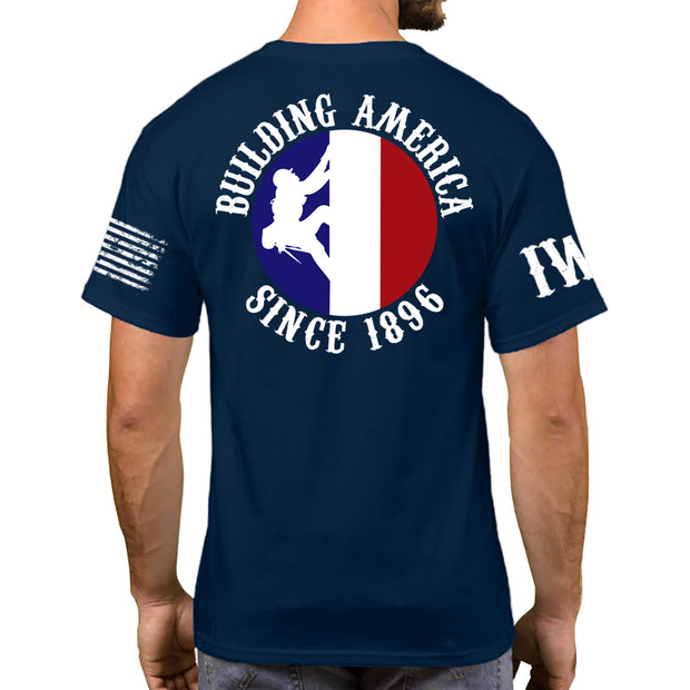 Navy Blue Short Sleeve - All Star Ironworker