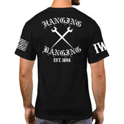 Black Short Sleeve - Hanging & Banging
