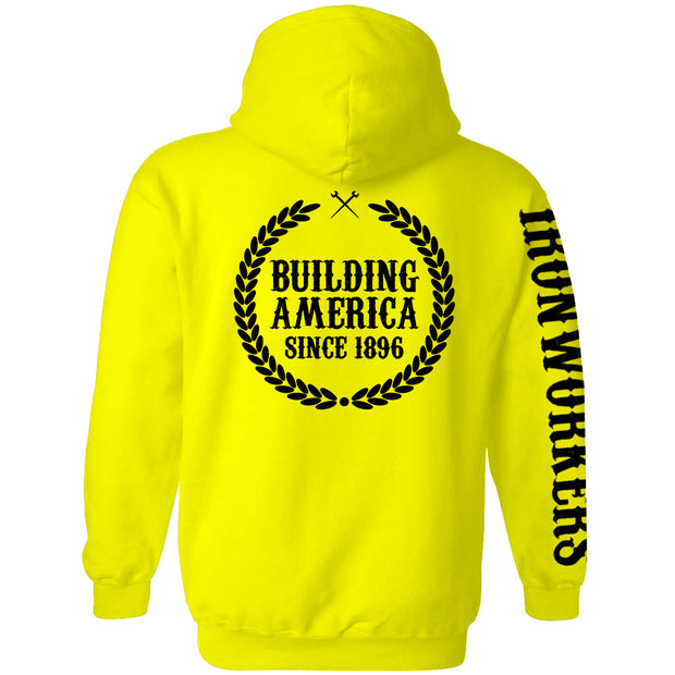 High Visibility Hoodie - Building America Since 1896