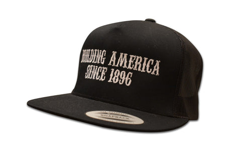 Building America Since 1896 - Classic Snapback Trucker Hat