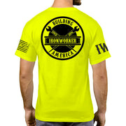 High Visibility Short Sleeve - Spud Beam - Black Design