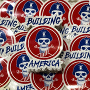 IRONWORKER SKULL STICKER
