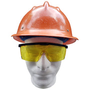 Building America Yellow Clear - Ironworker Safety Glasses
