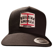 Building America Steel - Black Snapback