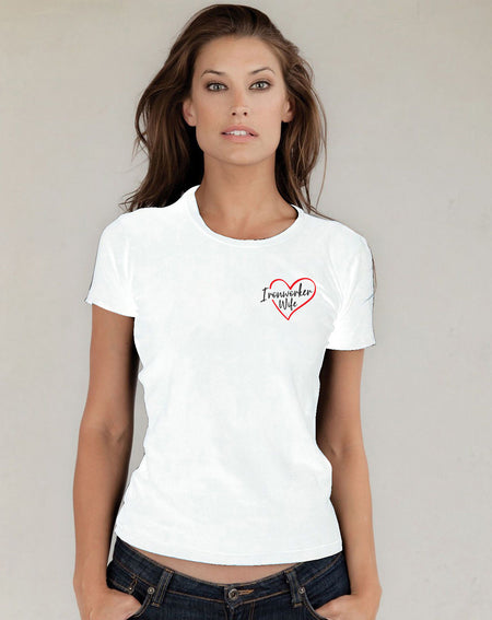 Ironworker Wife - White Short Sleeve
