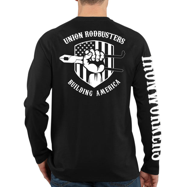 Union Rodbusters - Black Long Sleeve