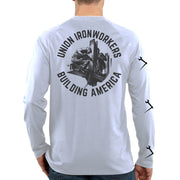 Union Ironworkers - White Long Sleeve