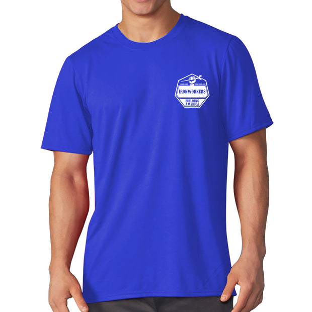 Earn Your Keep - Royal Blue Short Sleeve