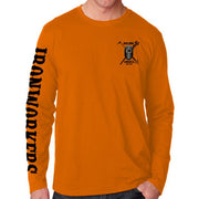 Spuds On The Dome - Orange Long Sleeve