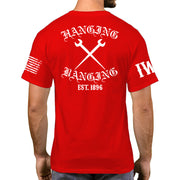 Red Short Sleeve - Hanging & Banging