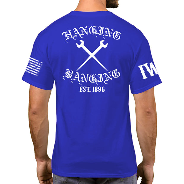 Royal Blue Short Sleeve - Hanging & Banging