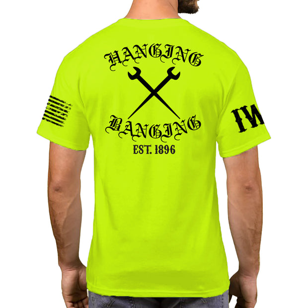 High Visibility Short Sleeve - Hanging & Banging