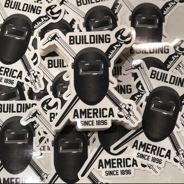 BUILDING AMERICA STICKER